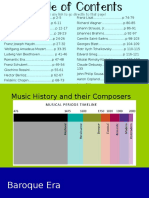 Gen. Music Composer PowerPoint