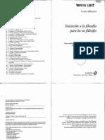 Althusser - Qué dicen los no filósofos.PDF