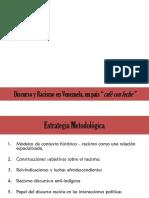 Discurso y Racismo en Venezuela