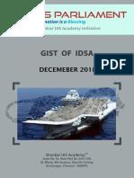 Gist of IDSA December 2018 Www.iasparliament.com