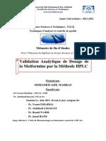 Validation Analytique de DosagE