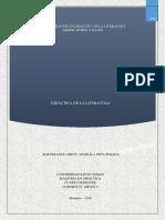 Mapa Conceptual Didac. de La Literatura