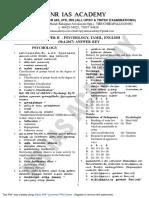 Tet Paper2 Key Psychology Tamil English