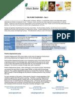 Pump Overview Part I