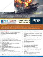 Drilling Well Control Syllabus Level 2