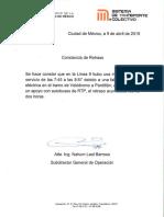 Metro da constancia por fallas en L9