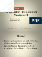 Hip Dislocation- Evaluation and Management.pptx