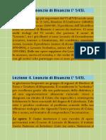 4. Lezione 4. Leonzio Di Bisanzio († 543). SCHEDA RIASSUNTIVA