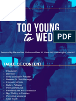 Child Marriage Ppt