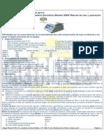 Manual Bascula Metrology BMW 3-6-15