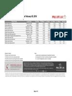 Comparative Rates - Pru Life UK