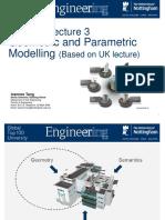 Geometric and Parametric Modelling