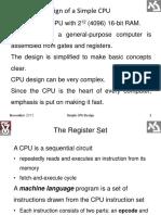Simple CPU Design (1)