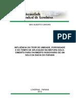 INFLUÊNCIA DO TEOR DE UMIDADE, POROSIDADE.pdf