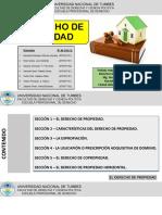 Derecho de propiedad diapositiva