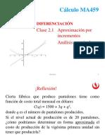 1.4 Aplicaciones - Aproximaxiones, Diferenciales y Marginalidad.ppt