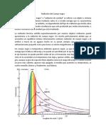 Radiación Del Cuerpo Negro y Propiedades Corpusculares de Radiacion