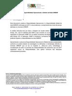 Informação sobre Disponibilidade Operacional e Global da Rede SIRESP em 2017