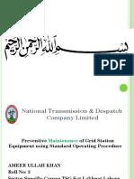 Preventive Maintenance of Substation Equipment