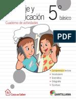 Cuadernillo Santillana. 5°.pdf