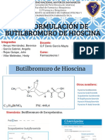 Preformulación de Butilbromuro de Hioscina