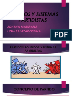 Partidos y Sistemas Partidistas Esap