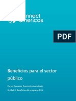 Beneficios Sector Publico