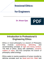 Professional Ethics Lecture 1 Ppt