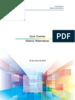 Guia Examen PAEP y EXANI-III