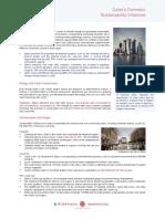 QAI Sustainability Fact Sheet