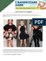 Come Raddrizzare Le Gambe Libro PDF | Vanesa Rivera