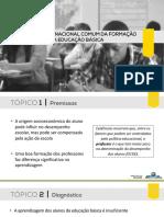 BASE NACIONAL COMUM DA FORMAÇÃO DE PROFESSORES DA EDUCAÇÃO BÁSICA