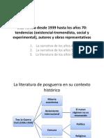 La narrativa posterior a 1940 18-19.ppt
