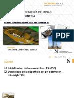 Mina Pre II Optimización Del Pit