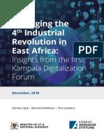 Kampala Digitalization Conference 2018  Report