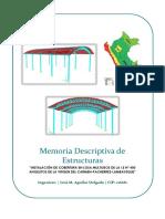 Memoria Descriptiva Cobertura Arco
