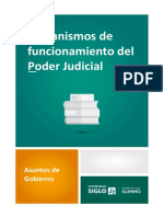 Mecanismos de Funcionamiento Del Poder Judicial