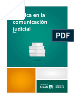La Ética en La Comunicación Judicial