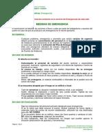Riesgos y Medidas Emergencias Version 07 2012