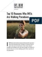 Top 10 Reasons Why INFJs Are Walking Paradoxes