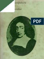 Hampshire S (1982) Spinoza. Madrid Alianza.pdf