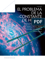 El Problema de la Constante de Hubble