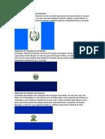 Banderas de Centroamerica