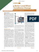 Controlling Boiler Level