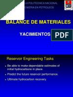 Balance de Materiales