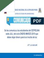 Se les comunica a los estudiantes del CEPREUNA sede JULI.docx