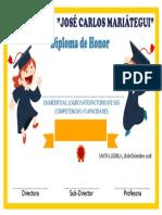 Diploma Plantilla