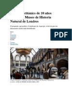 Niño Asperger Encuentra Fallo en Oviraptor Del Museo Historia Natural