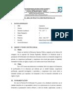 4. Sílabo de Práctica Pre Profesional III - 2017