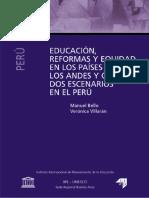 030. Educación, reformas y equidad en los países de los Andes y Cono Sur dos escenarios en el Perú.pdf